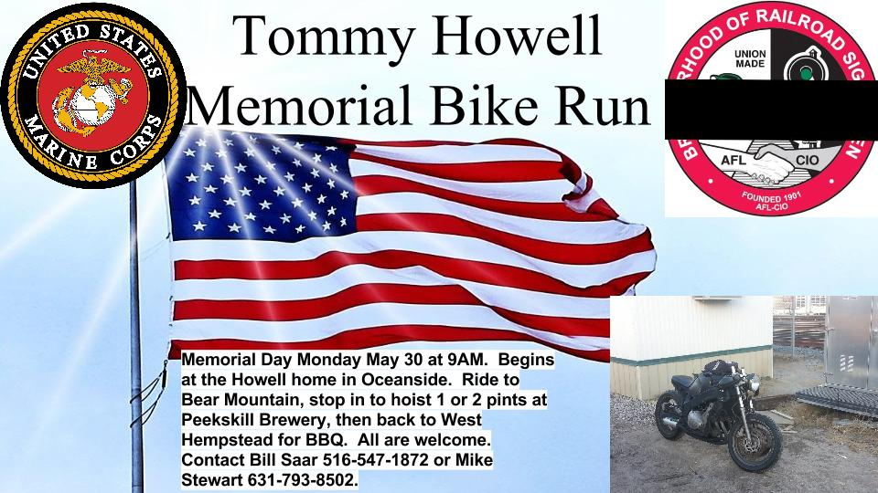 Tommy Howell Bike Run