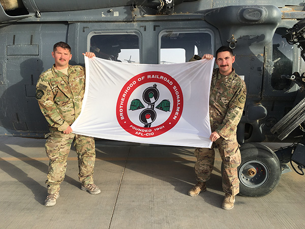 Steve Smith and Greg Weyant. part of the 106th Rescue Wing